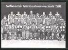 AK Schweiz, Gruppenbild Eishockeynationalmannschaft 1981