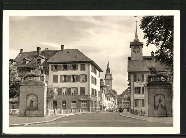 AK Zofingen, Unterer Stadteingang