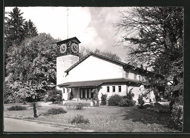 AK Aarburg, Partie an der Guthirtenkirche