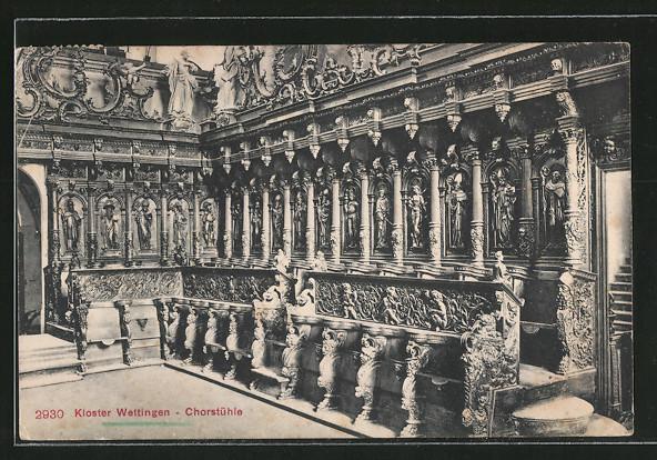 AK Wettingen, Kloster, Chorstühle