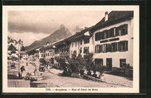 AK Gruyères, Rue et dent de Broc