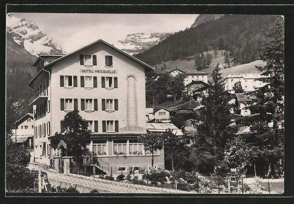 AK Leukerbad, Hotel-Pension Heilquelle