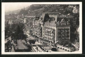 AK Territet, Hotel des Alpes et Grand Hotel