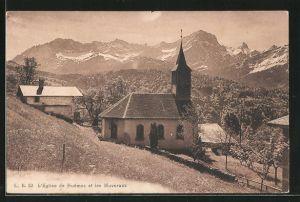AK Huémoz, l'Eglise de Huémoz et les Muverans