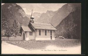 AK Les Plans-sur-Bex, la Chapelle