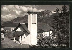AK Leysin-Village, la Chapelle catholique