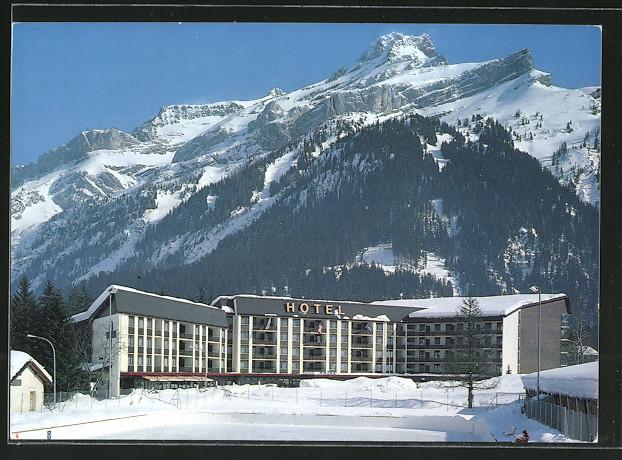 AK Les Diablerets, Hôtel Eurotel en hiver