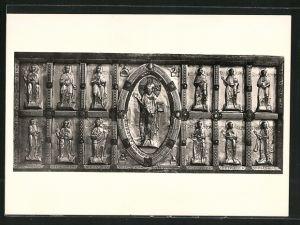 AK Schwäb. Hall, Grosskomburg, Stiftskirche St. Nikolaus, Antependium des Hochaltars