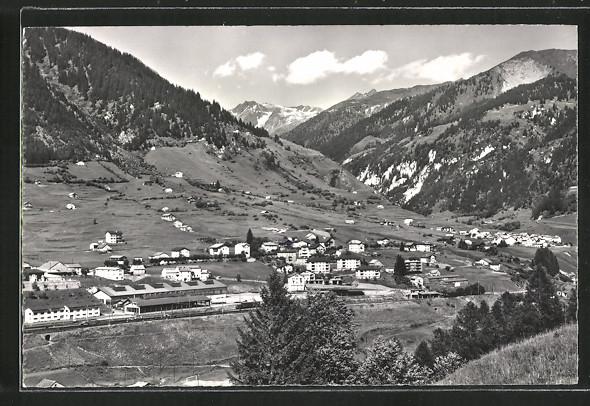 AK Airolo, Valle, Ortsansicht