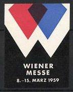 Reklamemarke Wien, Wiener Messe 1959