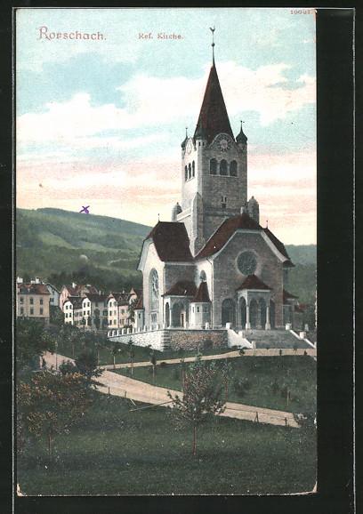 AK Rorschach, Ref. Kirche