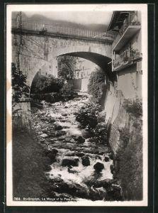 AK St-Gingolph, La Morge et le Pont Frontière