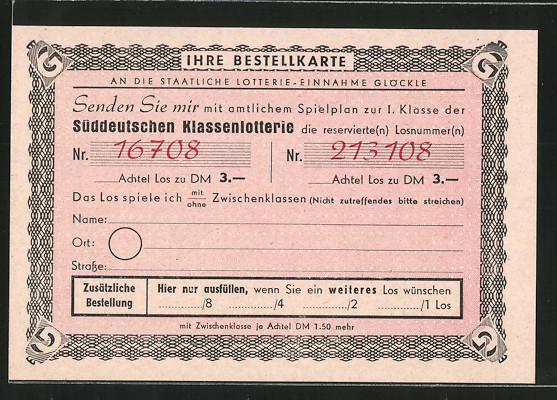 Süddeutsche Klassenlotterie