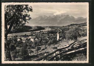 AK Lienz, Blick über den Ort zur Alviergruppe