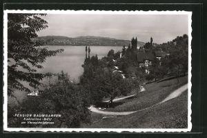 AK Kehrsiten-Dorf, Pension Baumgarten am Vierwaldstättersee