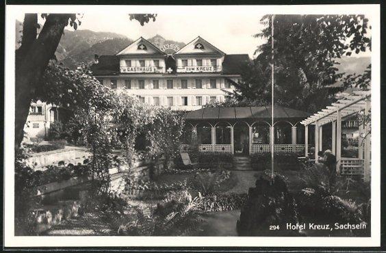 AK Sachseln, Hotel Kreuz