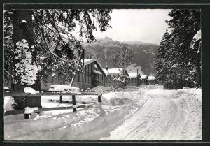 AK Melchtal, Kinderdorf im Winter