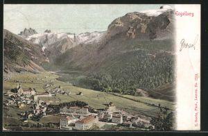 AK Engelberg, Blick auf den Ort