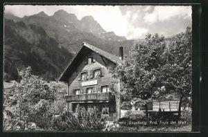 AK Engelberg, Restaurant Ende der Welt