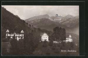 AK Sarnen, Landenberg, Ortsansicht