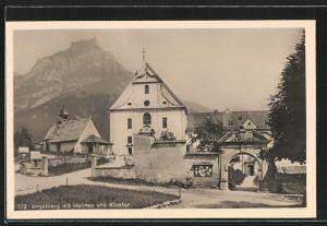 AK Engelberg, Kloster mit Hahnen