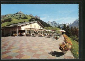 AK Engelberg, Sonnenterrasse Bergrestaurant Ristis-Brunni