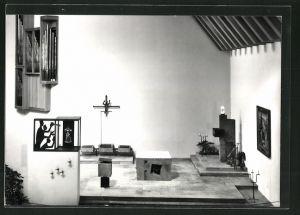 AK Sarnen, Kloster St. Andreas, Inneres der Kirche