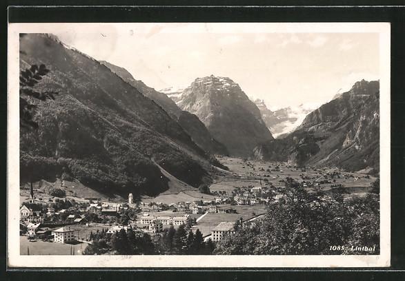 AK Linthal, Blick zum Ort