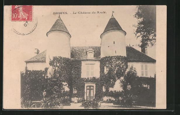 AK Druyes, le château du Boulé