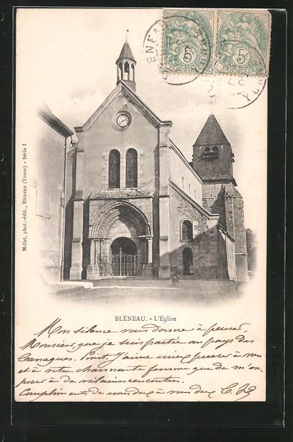 AK Bléneau, l'église