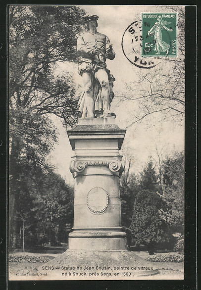 AK Sens, statue de Jean Cousin