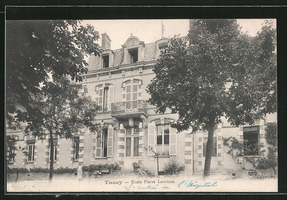 AK Toucy, ecole Pierre Larousse