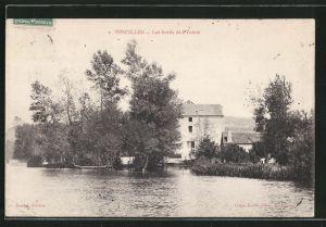 AK Vincelles, les bords de l'Yonne