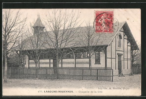 AK Laroche-Migennes, chapelle de la Cité