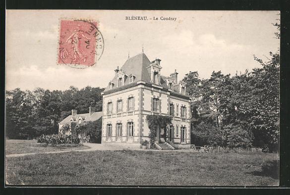 AK Bléneau, château le Coudray