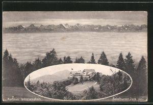 AK Weissenstein, Kurhaus Weissenstein über den Wolken, Solothurner Jura