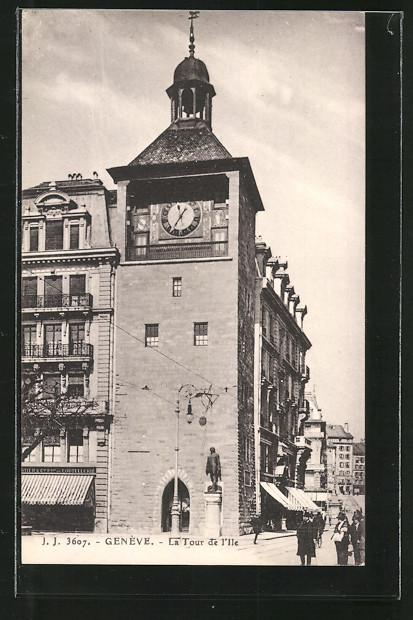 AK Geneve, La tour de l'ile