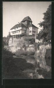 AK Frauenfeld, Teilansicht mit Schloss