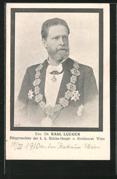 AK Bürgermeister von Wien Dr. Carl Lueger