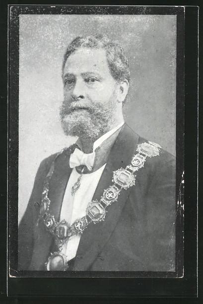 AK Bürgermeister der Stadt Wien Carl Lueger