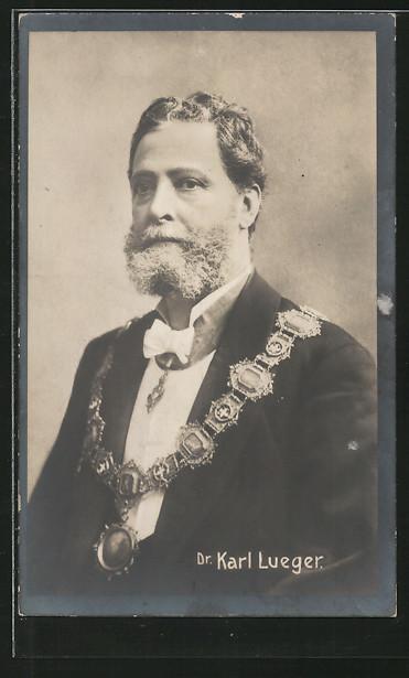 AK Bürgermeister der Stadt Wien Dr. Carl Lueger