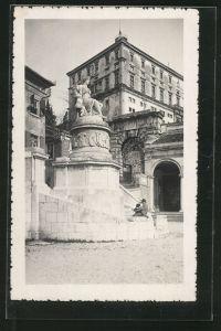 AK Udine, Statua della Pace di Campoformide