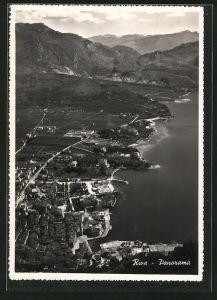 AK Riva, Panoramablick aus der Vogelschau