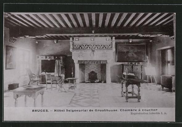 AK Bruges, Hotel Seigneurial de Gruuthuuse, Chambre à Coucher