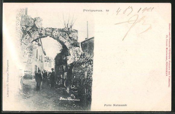 Ak p rigueux porte normande nr 6352096 oldthing for Porte normande