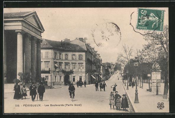 AK Périgueux, Les Boulevards
