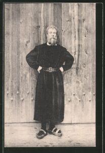 AK Mézières, Théatre du Jorat, Représentations de Wilhelm Tell, Schauspieler M. Bonarel als Walther Fürst