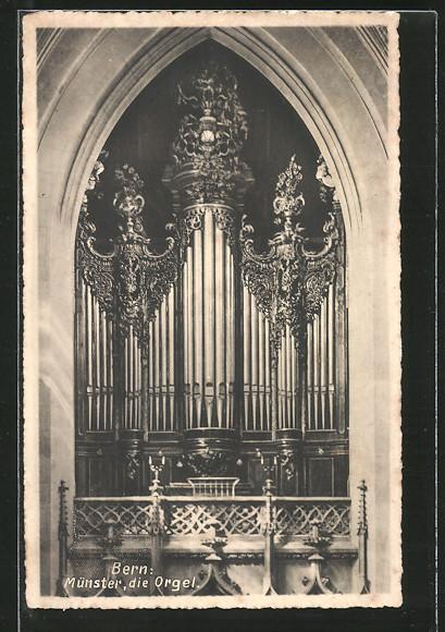 AK Bern, Orgel im Münster