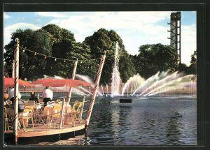 Ak hamburg internationale gartenbau ausstellung iga 1963 for Gartenbau hamburg