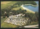 AK Augsburg-Ost, Campingplatz Augusta am Autobahnsee, Luftbild